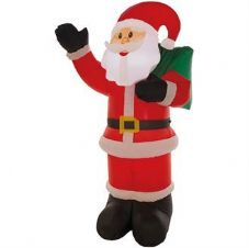 1.8M INFLATABLE WAVING SANTA